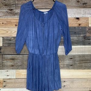 Women's dusty blue romper